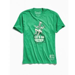 Mitchell and Ness Boston Celtics Lucky Tee Sz Sm